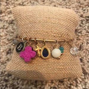 Plunder charm bracelet